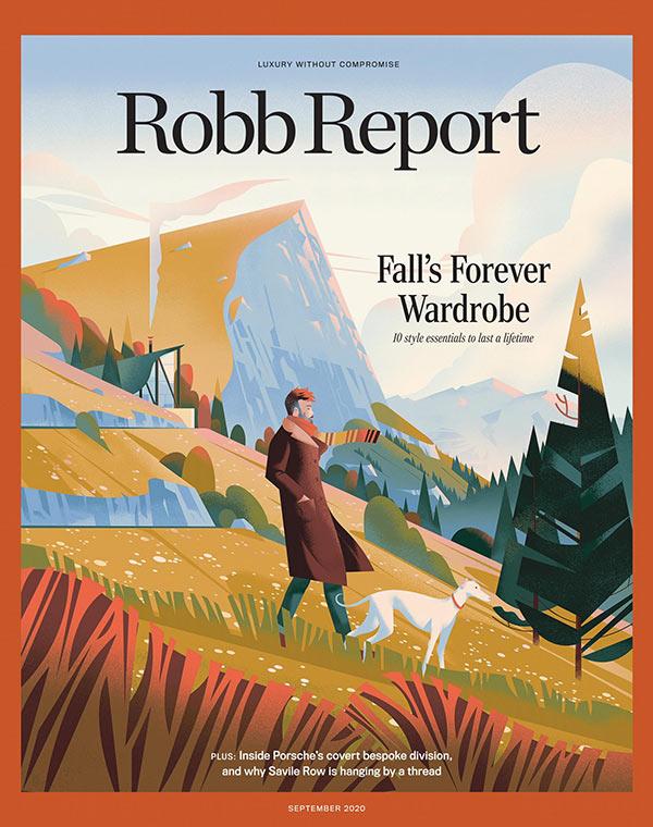 Robb Report Magazine September 2020 Cover